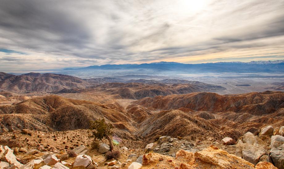 Zabriskie point - Death Valley (2)