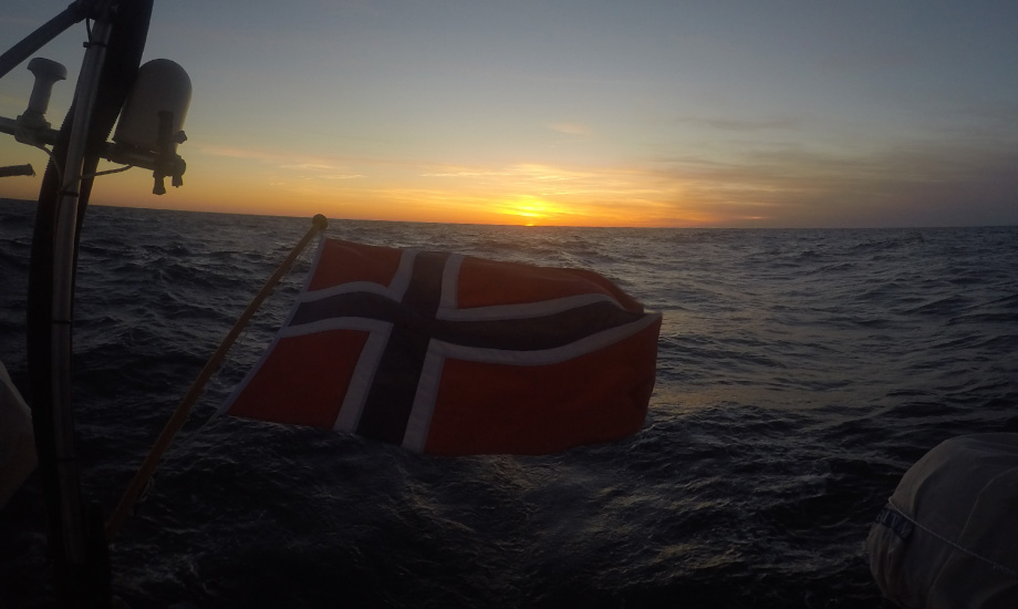 Seiling til Korsika i Middelhavet (1)