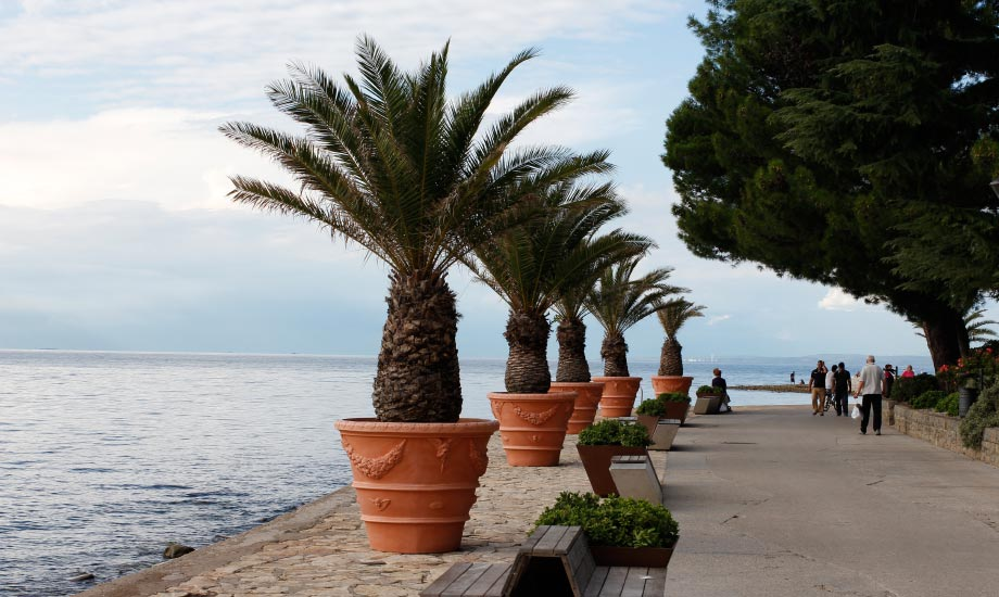 Strandpromonaden i Izola