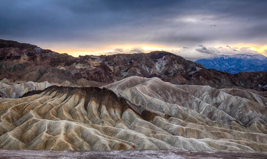 Zabriskie point - Death Valley (1)