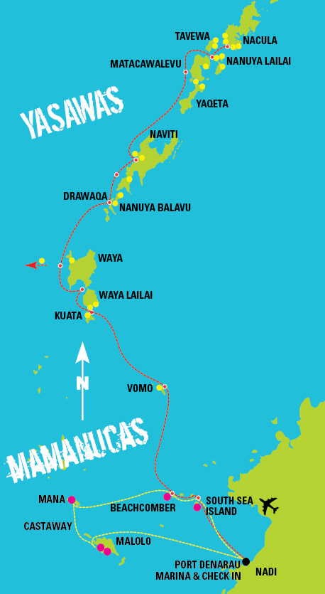 Yasawa-Flyer-Islands-Map