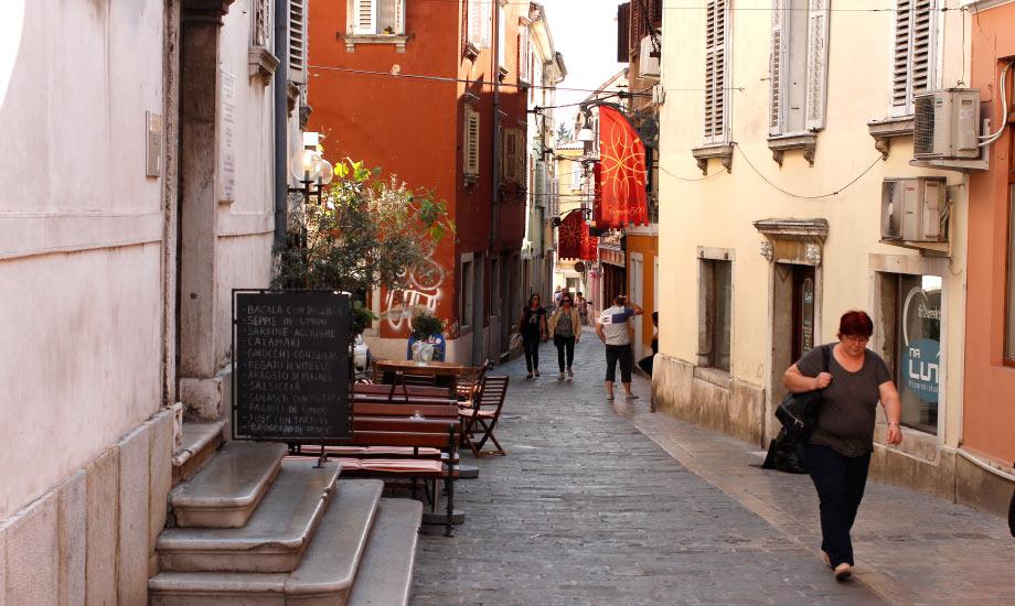De trange gatene i Koper