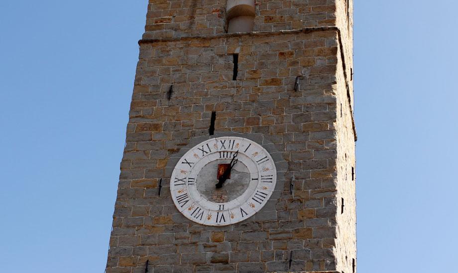 Klokketårnet i Koper